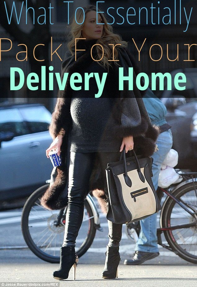What To Essentially Pack For Your Delivery Home