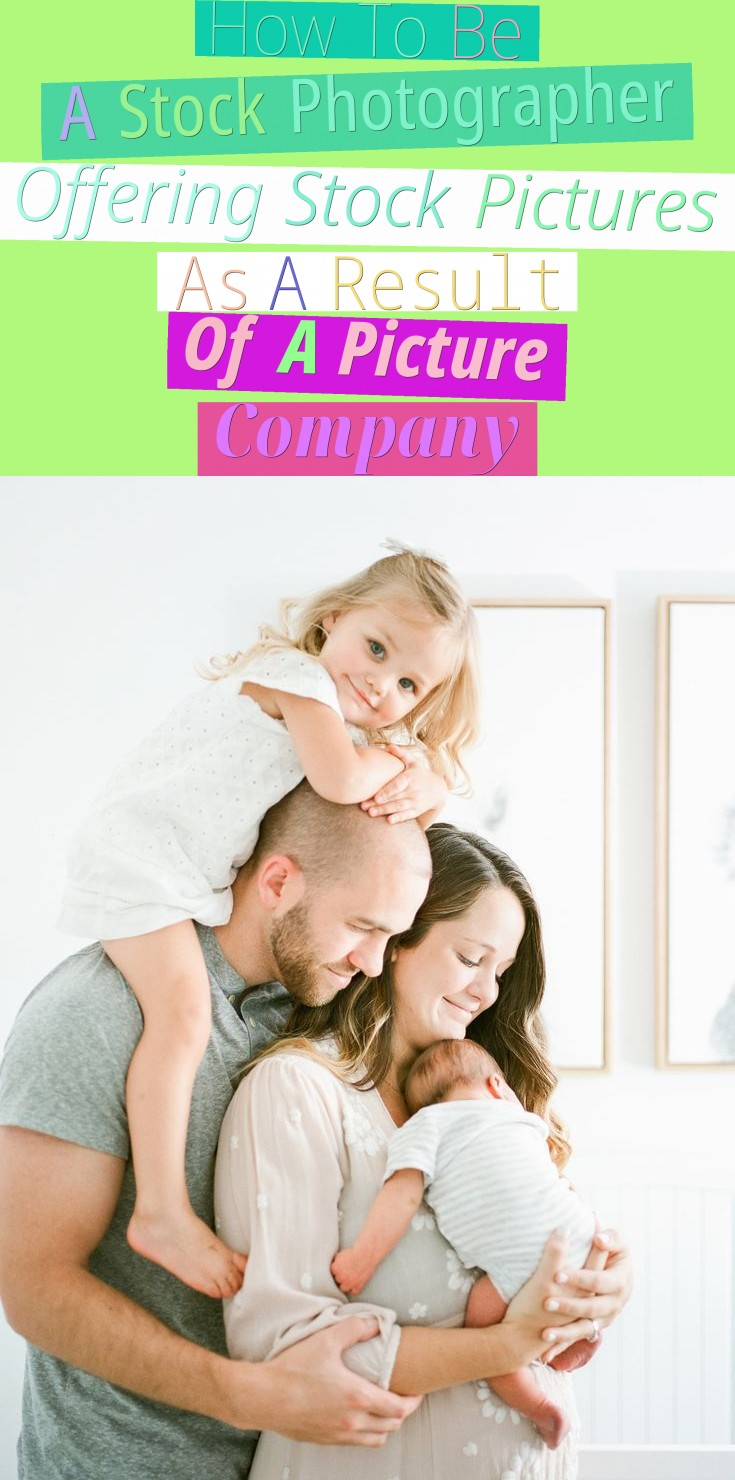How To Be A Stock Photographer Offering Stock Pictures As A Result Of A Picture Company